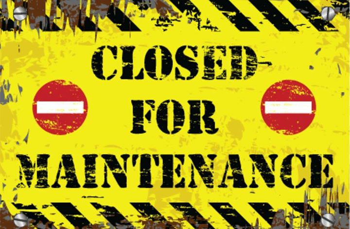 Image result for closed for maintenance