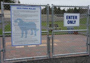 Dog Park - Entry