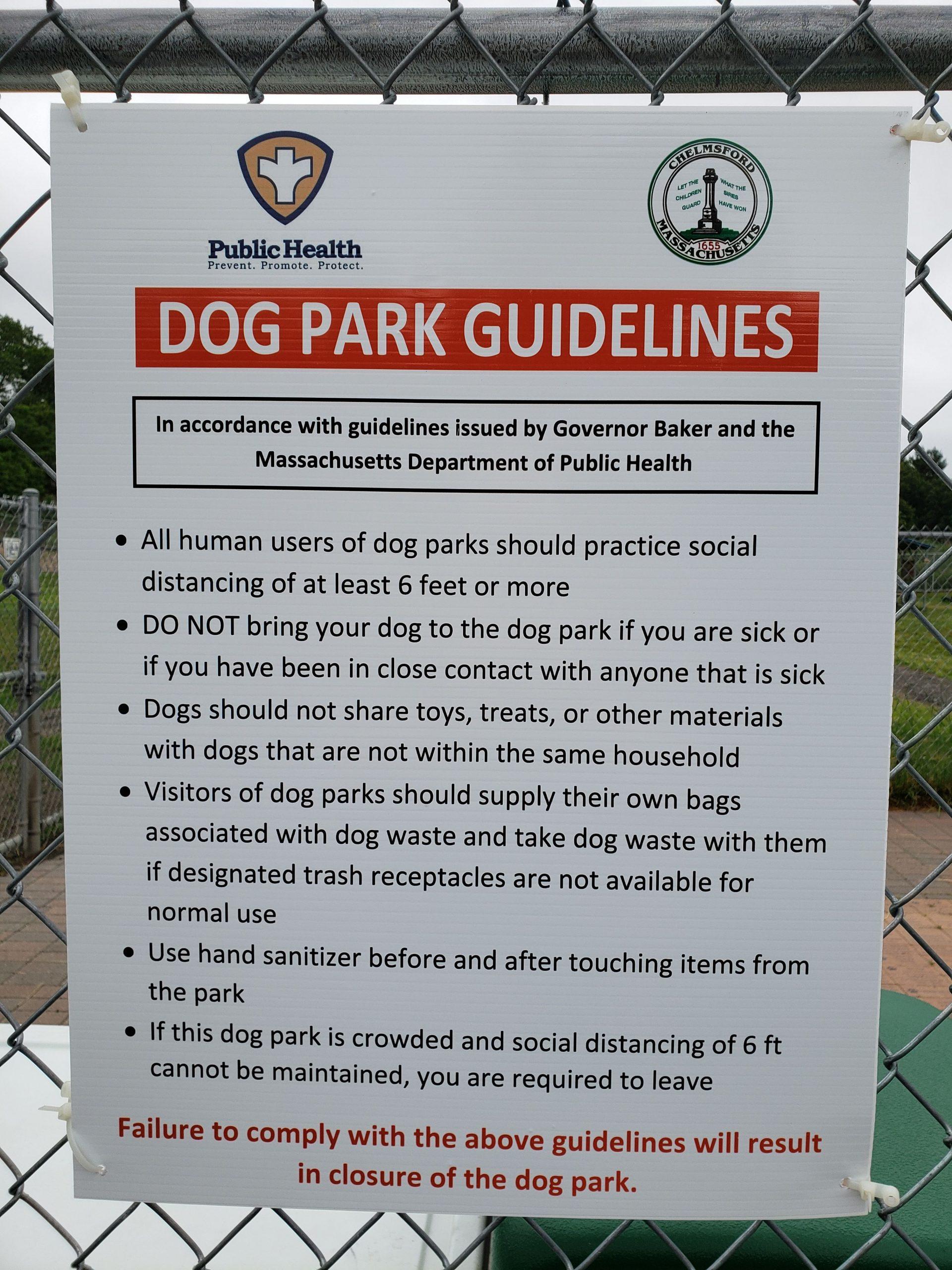 Dog Park Social Guidelines