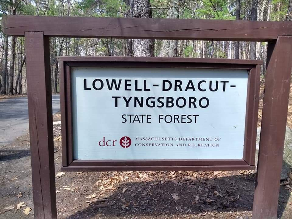 Kathy's Tips & Trails: Lowell/Dracut/Tyngsboro State Forest