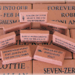 Engraved Brick Fundraiser for the  Chelmsford Dog Park